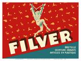 Filver Products - Suspenders, Belts, Ties (Bretelle, Ceinture, Cravate) Prints by Jean D'Ylen