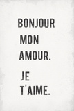 Mon Amour Stampa giclée di  The Vintage Collection