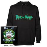 Pullover Hoodie: Rick & Morty - Riggity Riggity Hettegenser