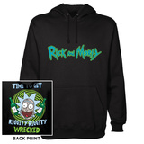 Pullover Hoodie: Rick & Morty - Riggity Riggity Pullover Hoodie
