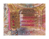 The Opera, Paris, early 1930's Prints by Raoul Dufy