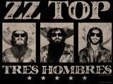 ZZ Top - Tres Hombres, 1973 Kunstdruck