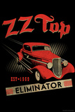 ZZ Top - Eliminator, 1983 Stretched Canvas Print