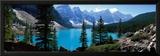 Moraine Lake Banff National Park Alberta Canada Framed Photographic Print