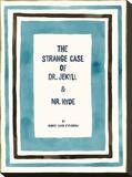 Book Club - Jekyll Stretched Canvas Print by Kristine Hegre