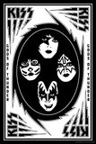 KISS - Bolts (Black and White) Lámina