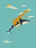 Onward! Lámina giclée prémium por Jay Fleck