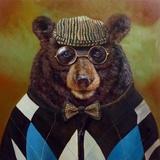 Papa Bear Posters by Lucia Heffernan