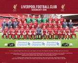 Liverpool - Team 17/18 Poster