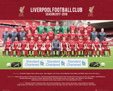 Liverpool - Team 17/18 Prints