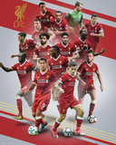 Liverpool - 17/18 Plakater