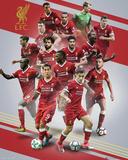 Liverpool - 17/18 Kunstdrucke