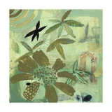 Floral Fantasies 2 Print by Aleah Koury