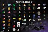 Minecraft - Pixel Sprites Posters