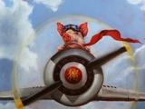 When Pigs Fly Posters by Lucia Heffernan