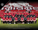 Manchester United - Team 17/18 Posters