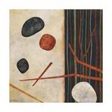 Sticks and Stones II Poster af Glenys Porter