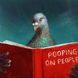 Pooping on People Posters by Lucia Heffernan