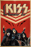 KISS - Retro Bolts Prints