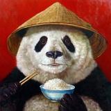 Panda Prints by Lucia Heffernan