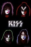 KISS - Solo Albume Kunstdruck
