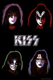 KISS - Solo Albume Stretched Canvas Print