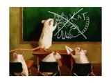 When the Cat Is Away Prints by Lucia Heffernan