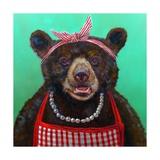 Mama Bear Posters by Lucia Heffernan