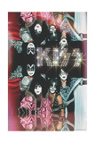 KISS - Glam with Diamonds Art
