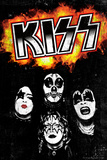 KISS - Fireball Posters