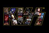KISS Logo Collage Plakat