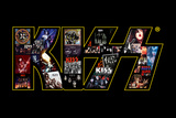 KISS Logo Collage Kunstdruck