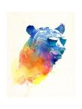 Sunny Bear Posters av Robert Farkas