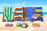 Sandals and Seats Affiche par Scott Westmoreland
