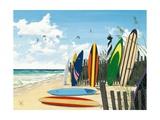 Planches de surf Affiches par Scott Westmoreland