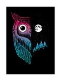 Night Owl Poster por Michael Buxton