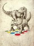 The Ultimate Battle Posters por Michael Buxton