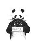 Bad Panda Plakater af Balazs Solti
