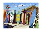 Surf-Hütte Poster von Scott Westmoreland