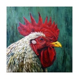 Big Red Prints by Lucia Heffernan