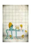 Bath Time Láminas por Maja Lindberg