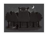 Monster Hunting Pôsteres por Michael Buxton