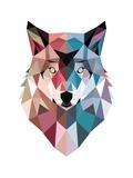 Geo Wolf Poster por Michael Buxton