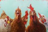 Chicken for Dinner Affiche par Lucia Heffernan