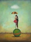 Circus Romance Poster van Duy Huynh