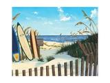 Beach Access Affiches par Scott Westmoreland