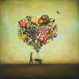 Big Heart Botany Stampe di Duy Huynh