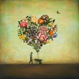 Big Heart Botany Poster van Duy Huynh