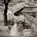 Café, Aix-en-Provence Reproduction photographique par Alan Blaustein