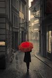 Red Rain Reproduction photographique par Stefano Corso